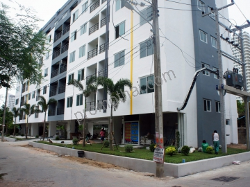 Jomtien Beach Mountain Condo 6 Location